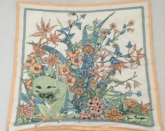 Jim Thompson Silk Fox & Flora Pillow Cover