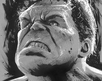 Hulk Sketch by Gary Deslauriers