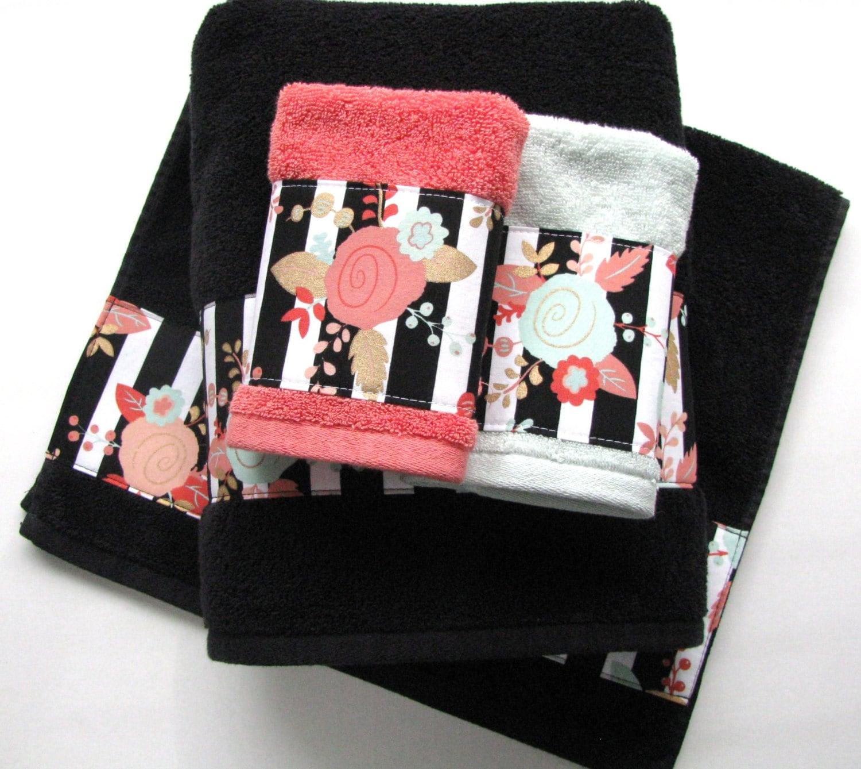 Superieur Custom Red, Black, White Towels, Custom Towels, Black Towels, Red Towels,  Towel Sets, Hand Towels, Zebra Towels, Black Chevron, Quatrefoil