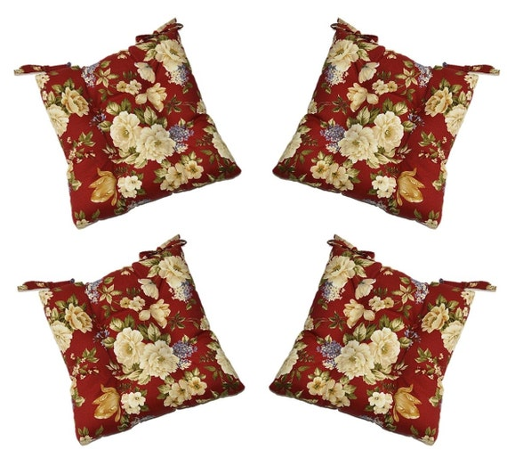 Victorian Outdoor Pillows : Set of 4 Indoor / Outdoor Victorian Rose by PillowsCushionsOhMy