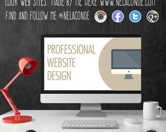 Professional Custom Website Design