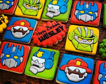 Rescue Bots / Transformer Cookies