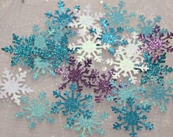 Frozen Party Decoration Confetti / Snowflake Confetti / Wonderland Confetti / Table Scatter / 100 pieces / Frozen / Punchies