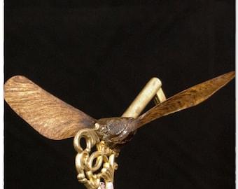 Winged key