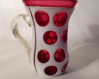 Vintage Biedermeier Glass - Jahrgang Biedermeier glas