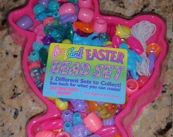 Vintage Lisa Frank Easter Bead Kit