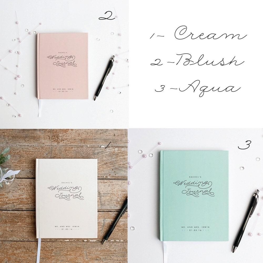 Wedding Planner Book Wedding Journal Personalized custom