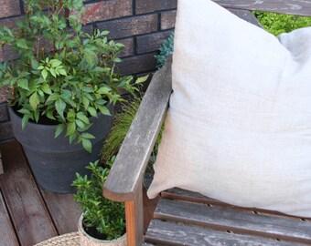 Natural Linen Pillow/ Natural Linen/ Pillowcase/Linen Accessories