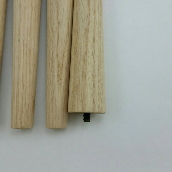 Mid century modern tapered table legs sold individually 6 for 10 inch table legs