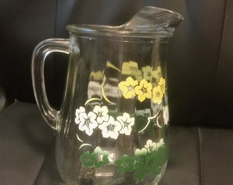 Vintage Ice Tea/water pitcher.