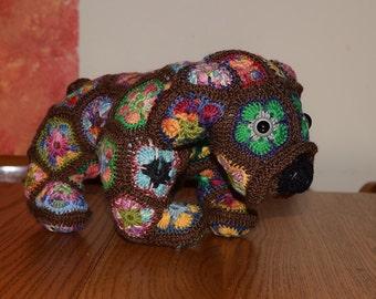 Cuddly Crochet Bulldog Pick-Your-Color