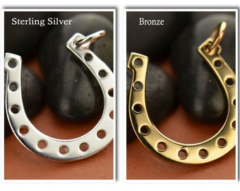 Lucky Horseshoe Charm- charm holder