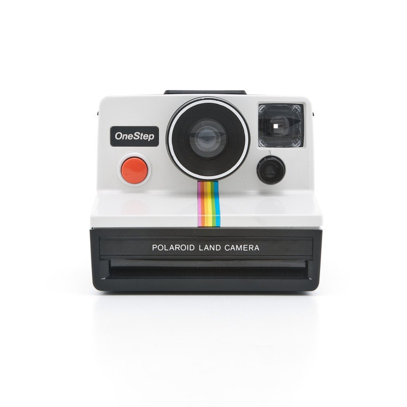 polaroid onestep classic white rainbow sx70 by shutterlightoc