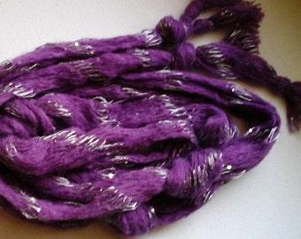 Purple sparkle scarf
