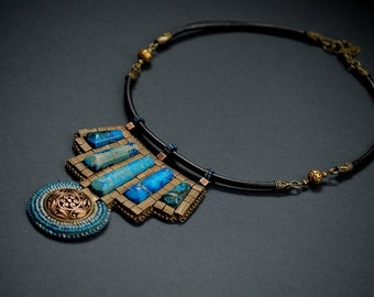 Letheras - Bead Embroidery Necklace