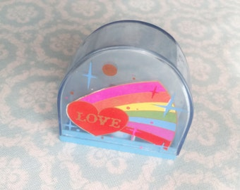 Pencil Sharpener Love Vintage 1980s