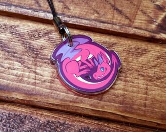 """1"""" Animal Charms - Dragon"""
