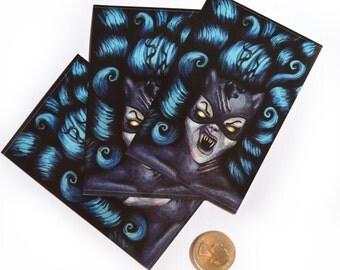 Zombie Catwoman - Sticker