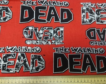 The Walking Dead Official Licensed Fabrics