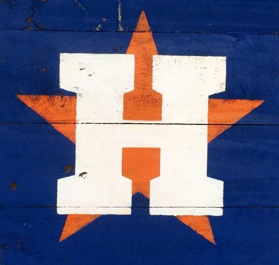 Garden Decor Houston: Houston Astros Baseball Pallet Wall Art Boys Room By