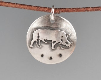 Rhinoceros totem-talisman-charm-amulet-rhino-spirit animal-power animal