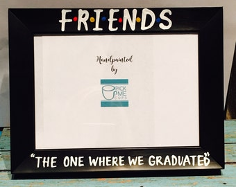 friends graduation photo frame friends tv show rachel ross monicachandler phoebe joey graduation gift graduation 2017 gifts