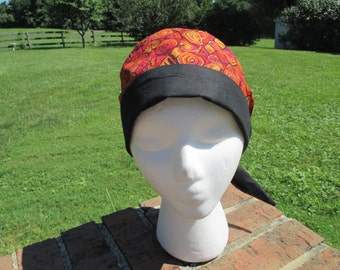 Chemo Hat with Back Tie