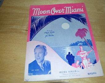 Vintage Sheet Music By Kay Kyser 1935