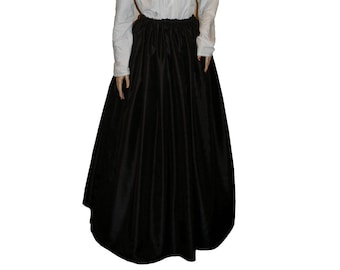 Ladies Victorian / Edwardian costume SKIRT gentry / ball gown fancy dress Sizes 6-32