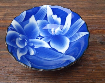 Small Blue Chinese Bowl