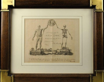 Human Anatomy Certificate Signed John Abernethy 1807 Joseph Lightfoot