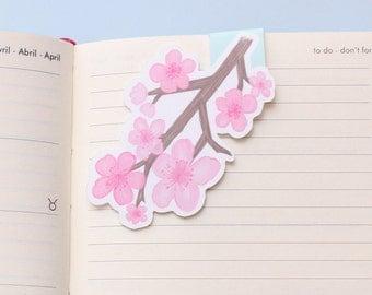 Cherry Blossom Magnetic Bookmark (Jumbo)