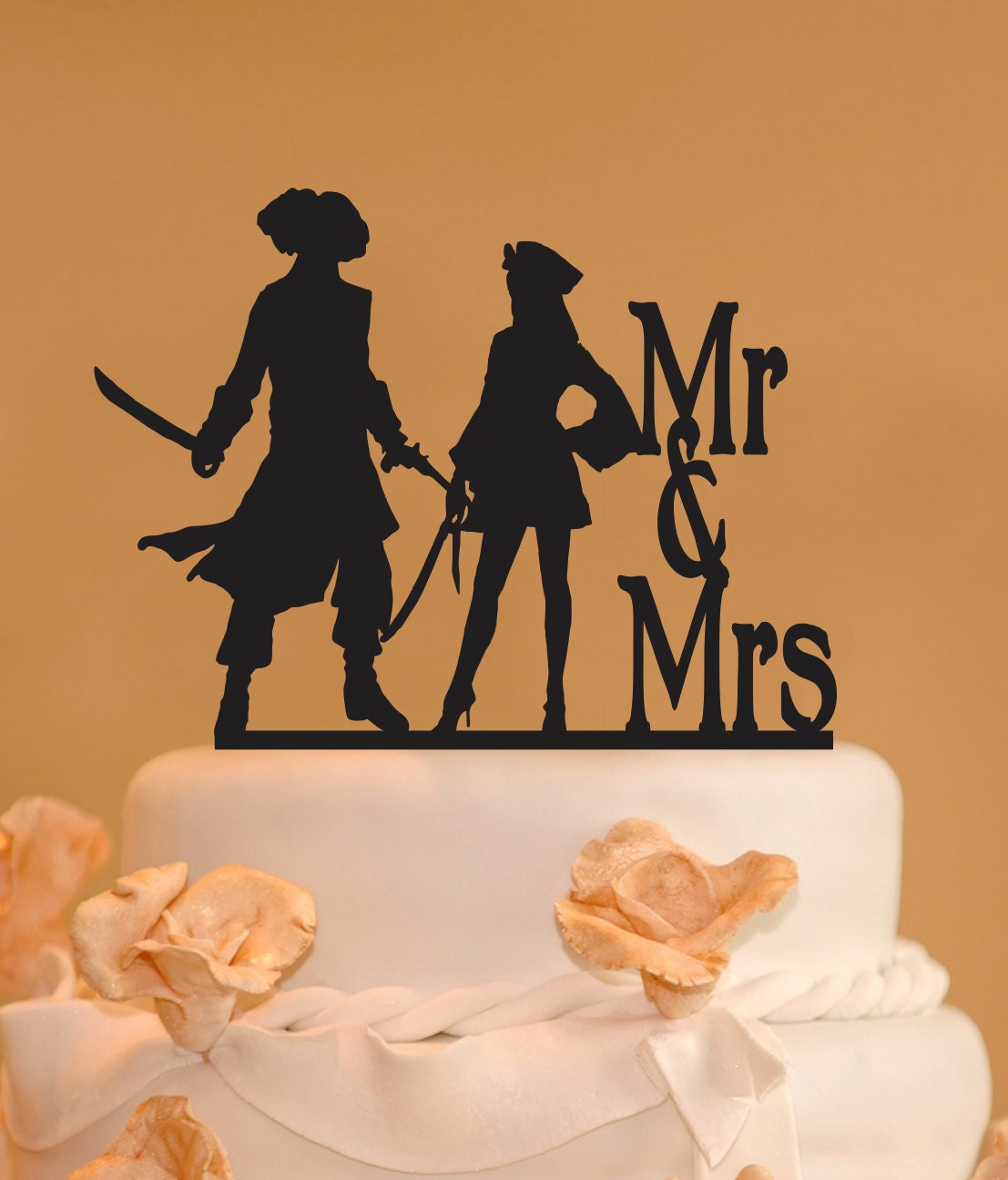 pirate wedding cake topper wedding cake topper mr and mrs wedding cake topper 18622