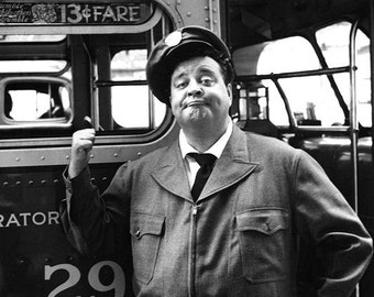 Jackie Gleason as Ralph Kramden from the TV sitcom The Honeymooners