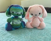 Crochet Bunny (2 items)
