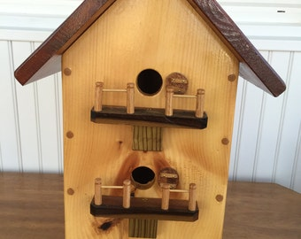 Double Porch Birdhouse