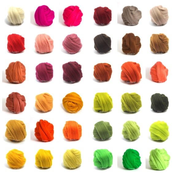 "New Colors! Giant Chunky Yarn, Super- THICK Yarn, ""Smoosh Yarn"" ™ For Chunky Blankets, Extreme Hand Spun yarn"