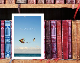 Cards Mother's Day, Photo Kite, Mothers Day Card Download, Gift for Mom, Printable Card, Download Card, Birthday Cards, Download photography