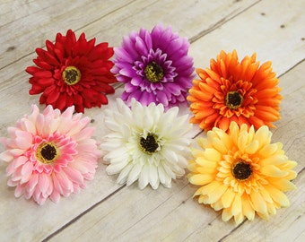 Gerbera Daisy Dog Collar Flower, Dog Collar Accessory, (Collar not included), Collar Attachment, Flower, Dog Accessory