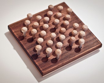 Wooden SOLITAIRE Game