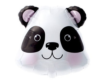 """14"""" Panda Bear Balloon - Party Favor, Centerpiece, Party Decor"""