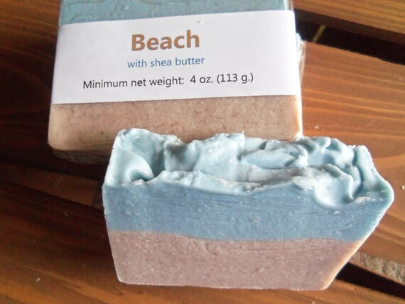 Beach type scented cold process soap with shea by for Bobbi brown beach soap