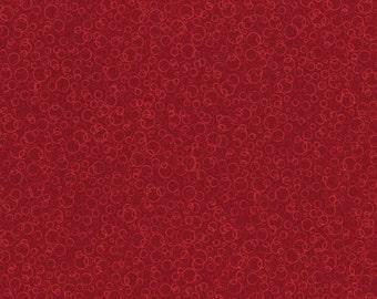 RJR Patrick Lose Basically Patrick Tonal Red Circles Bubbles fabric 2070-016 BTY