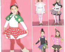 Simplicity Pattern 2327 Designed by Teri GNOME CLOWN LEOPARD & More Child Sizes 3 4 5 6 7 8
