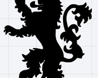 House Lannister Sigil Decal