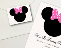 Unique Minnie Mouse Sticker Related Items Etsy