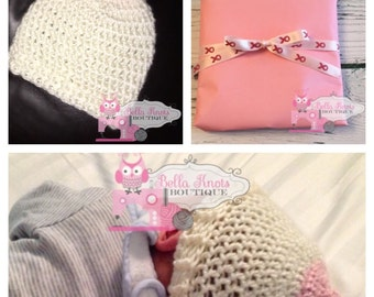 Crochet Boob Hat, Boob Beanie, Boob Crochet Hat, baby beanie, Breast Cancer Awareness hat, Breastfeeding Awareness