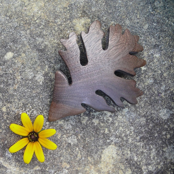 Leaf Barrette Hair Clip, Hippie jewelry, 80mm french barrette Clasp, Oak Leaf body jewelry, Nature Lover gift, Unique gift for her