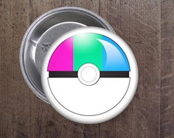 Polysexual Pokeball button
