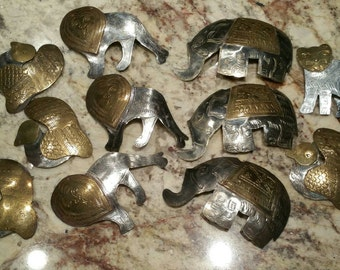 Vintage metal ornaments